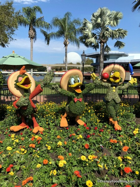 Three Caballeros Topiary