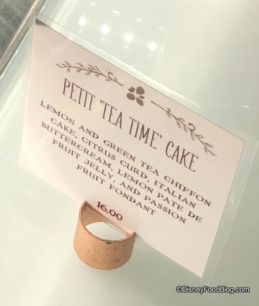 Petite Tea Time Cake at Amorette's Patisserie