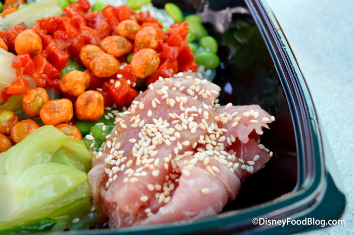 Tuna on the Asian Bowl