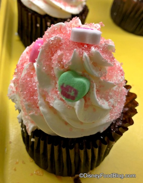 Candy Hearts Cupcake at Everything Pop