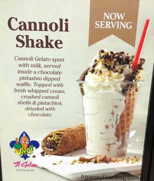 Cannoli Shake