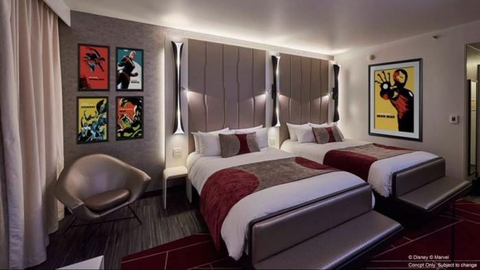 Disney's Hotel New York -- The Art of Marvel ©Disney