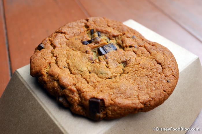 Golden Oak Outpost Warm Chocolate Chip Cookie