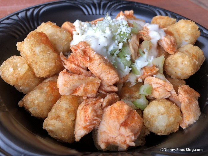 Loaded Buffalo Chicken Tots