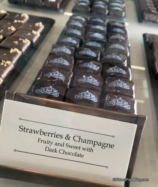 Strawberry and Champagne Chocolates at the Ganachery