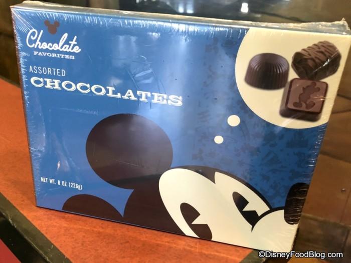 Box of Chocolates at Goofy's Candy Kitchen