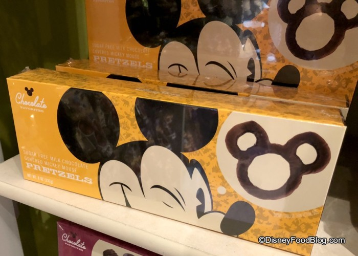 Chocolate Favorites at Goofy's Candy Kitchen