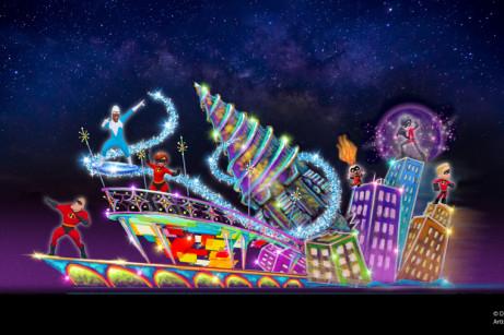 Incredibles Float Concept Art ©Disney