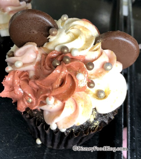 Rose Gold Cupcake at All-Star Music