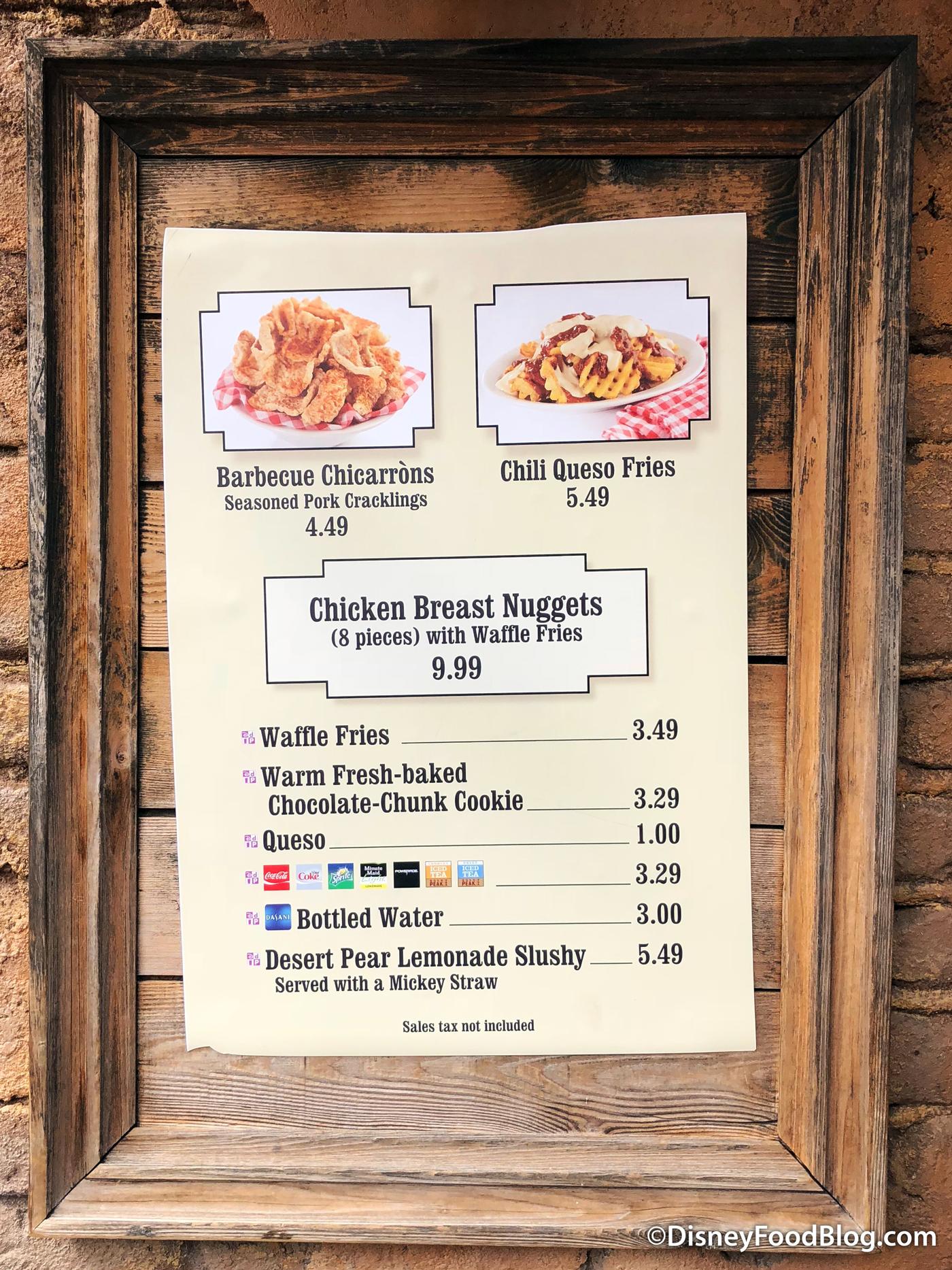 New Eats At Golden Oak Outpost in Disney World's Magic ...