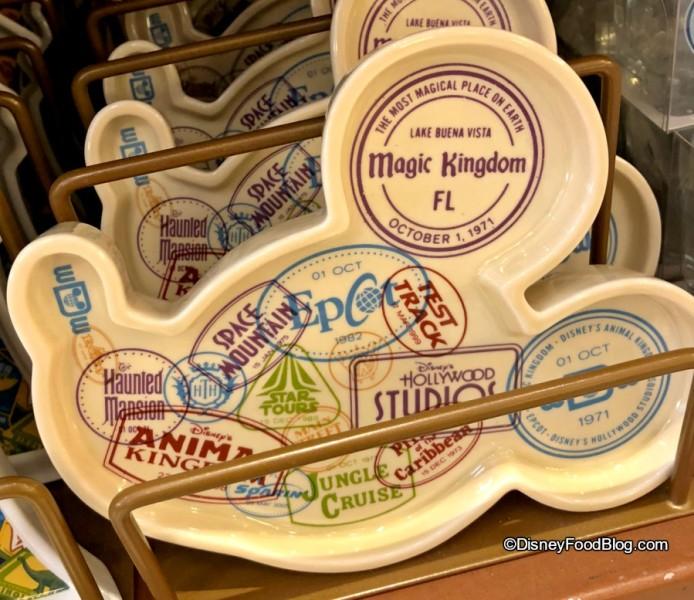 Mickey Profile Plate