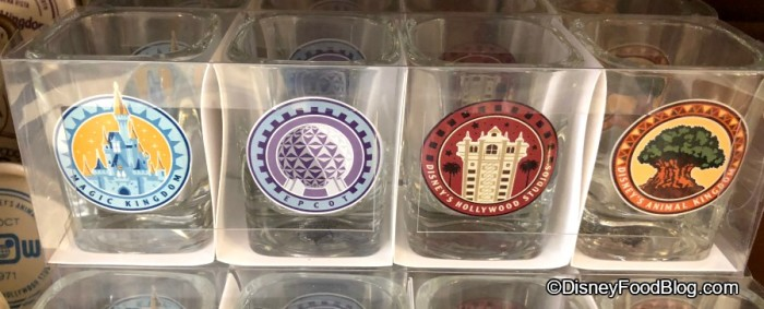 Four Parks Shot Glasses