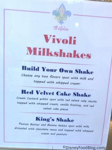 New Milkshakes!