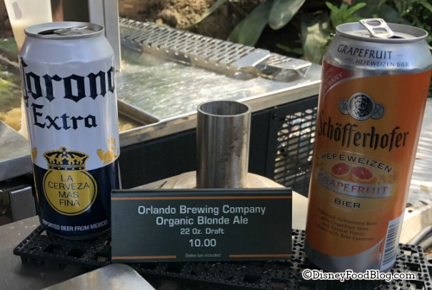 Pandora Ice Cream Cart beer offerings