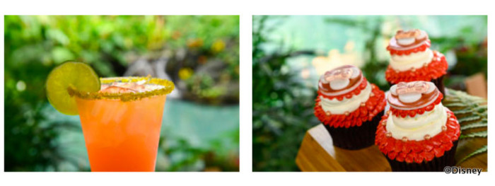Polynesian Resort Rose Gold Snacks