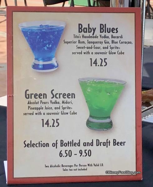 Pop Up Bars Seasonal Drinks