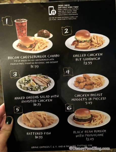 Changes to Restaurantosaurus Menu