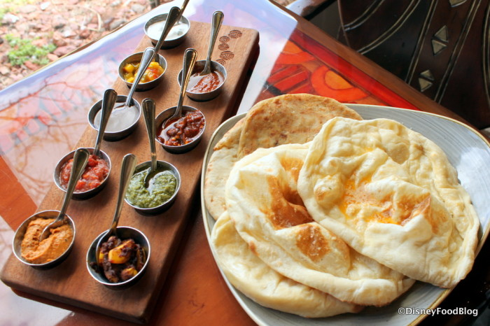 Leave room for the Bread Service at Sanaa!