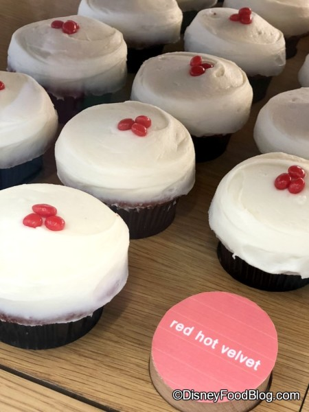 Red Hot Velvet Cupcakes at Sprinkles