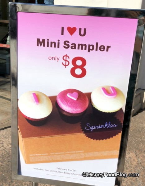 Mini Sampler at Sprinkles
