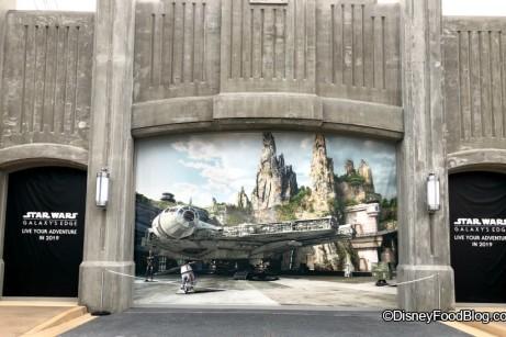 Star Wars Galaxy Edge Entrance