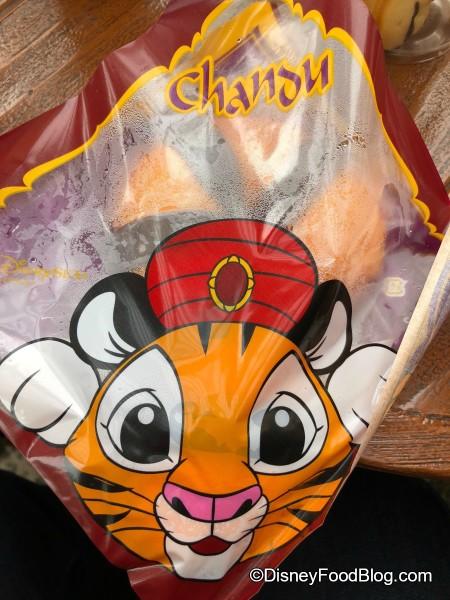 Steamy Chandu Tail Packaging!