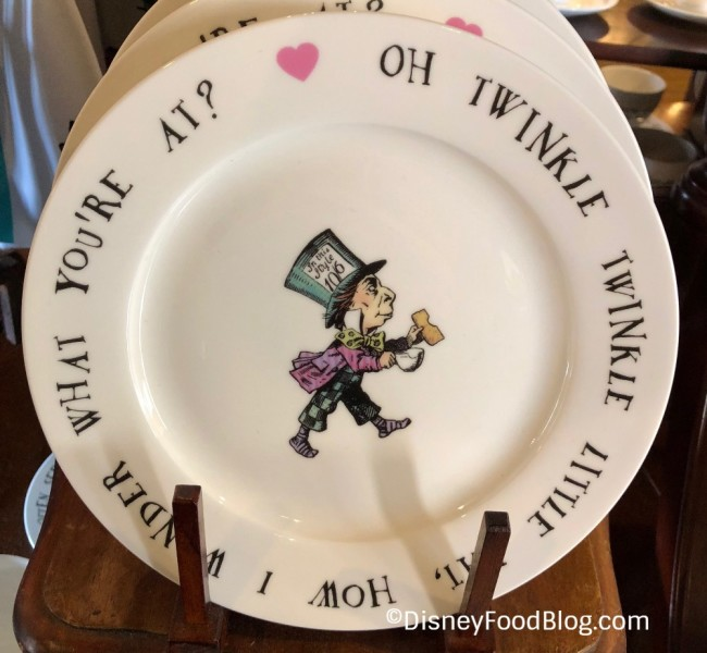 Mad Hatter Plate