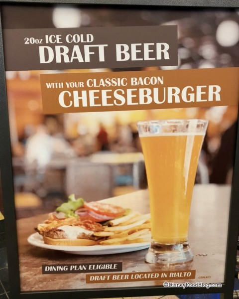 Bud Light on draft at World Premier Food Court