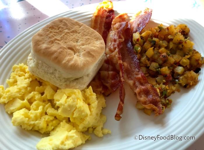 American Breakfast at Flo's V-8 Cafe