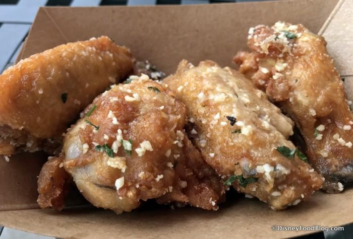 Salt & Beer Vinegar Parmesan Chicken Wings