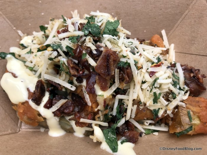 Fried Artichoke Carbonara with Garlic Aioli and Smoked Bacon