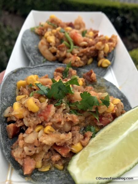 Shrimp Boil Tacos with Andouille Sausage and Fresh Corn