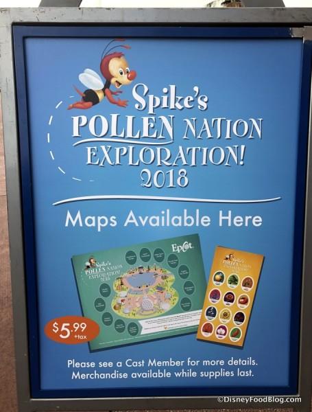 2018 Spike's Pollen Nation Exploration Map Pickup
