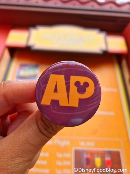 2018 Annual Passholder button