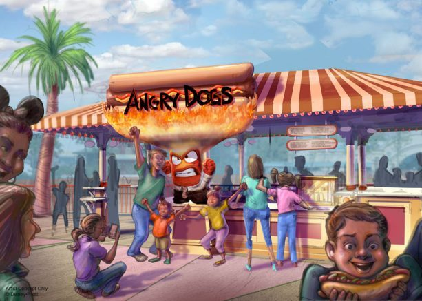 Angry Dogs Hot Dog Stand