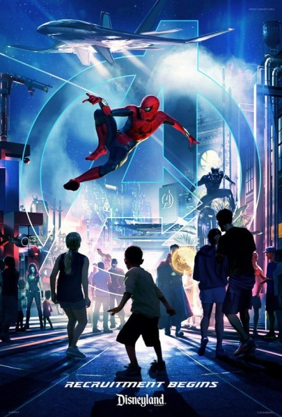 Marvel Land Poster ©Disney