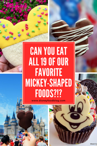 Disney FOOD CHALLENGE! Can You Eat All 19 Of Our Favorite Mickey-Shaped Foods?!?
