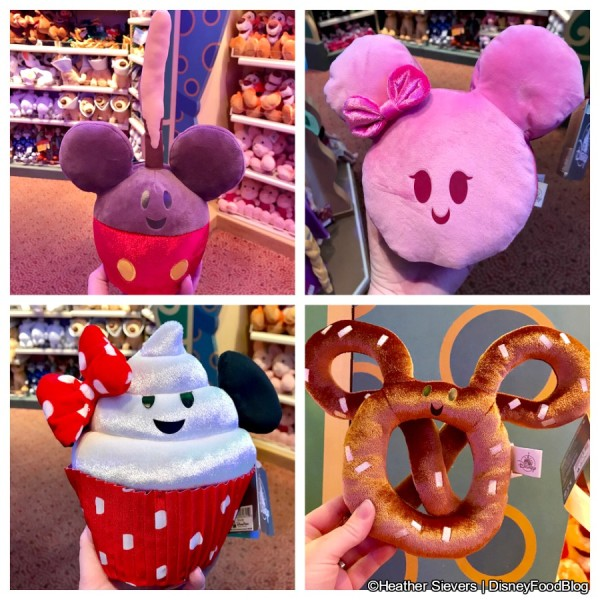 Disney Food Friend Plush