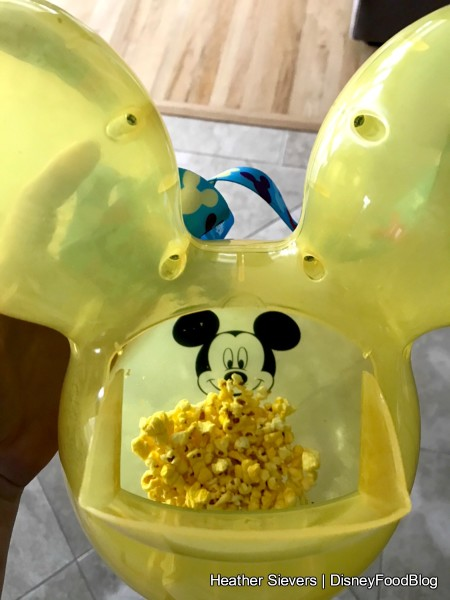 How to open the Mickey Balloon Popcorn Bucket