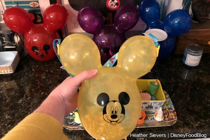 Mickey Balloon Popcorn Buckets!