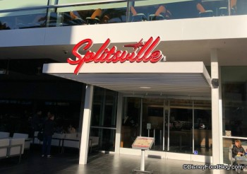 Disneyland Splitsville Entrance