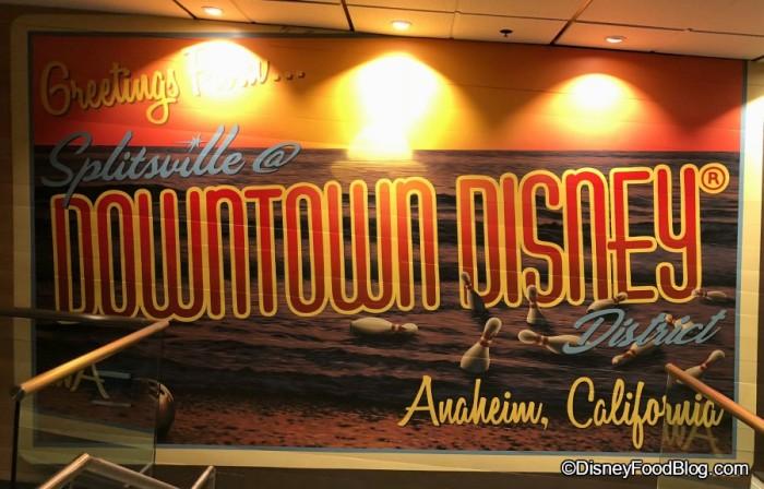 Greetings from Disneyland Splitsville Luxury Lanes!