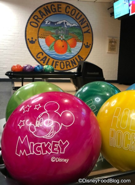 It's not Splitsville without Mickey Bowling Balls!