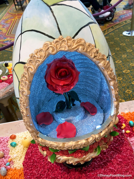 Enchanted Rose Egg