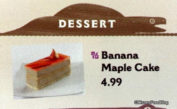 New dessert at Flame Tree BBQ