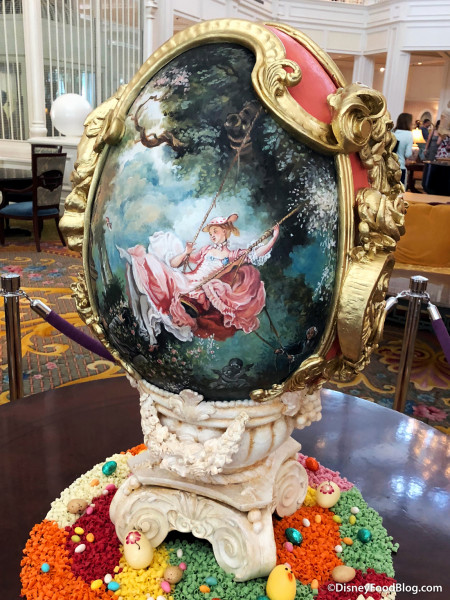 French Paintings Egg