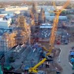 Star Wars: Galaxy's Edge Construction Flyover Video!