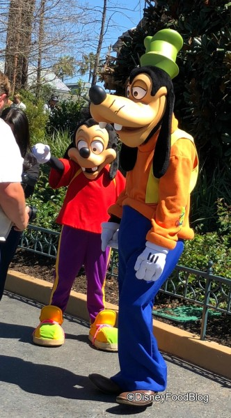 Meet with Goofy and Max