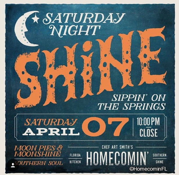 Saturday Night Shine at Homecomin'!