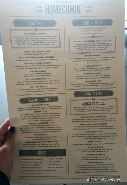 Homecomin' has new menu items